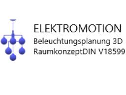 Webinar: ELEKTROMOTION Beleuchtungsplanung 3D