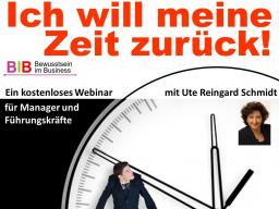 Webinar: Ich will meine Zeit zurück!