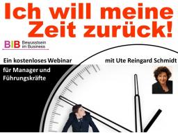"""Webinar: """"Von der Ich-Zeit zur Selbst-Zeit"""""""