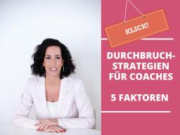 Webinar: Durchbruchstrategien für Coaches