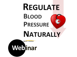 Webinar: regulate BLOOD PRESSURE naturally!