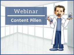 Webinar: Content-Pillen für Deine Social Media Profile
