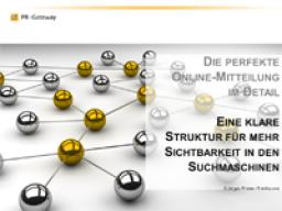 Webinar: Fokus-Webinar: Die perfekte Online-Mitteilung im Detail : Eine klare Struktur für mehr Sichtbarkeit in den Suchmaschinen