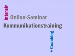 Webinar: 5h Kommunikationstraining + Coaching intensiv