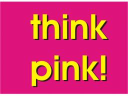 Webinar: Sabine E. Hoffmann - think pink!