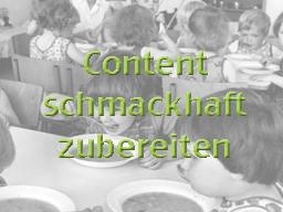 Webinar: E-Learning: Content schmackhaft zubereiten