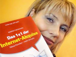"""Webinar: Online-Fachvortrag mit Buchpräsentation """"Das 1x1 der Internet-Akquise"""""""