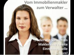 Webinar: Vom Immobilienmakler zum Hausverwalter ... oder wie Sie sich als Makler eine zweite Einnahmequelle sichern!