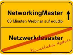 Webinar: Kontaktmanagement und Netzwerken 1.0 -> 3.0
