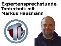 Webinar: Expertensprechstunde Tontechnik, Einzel-Coaching