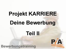 Webinar: Bewerbungstraining - Was müssen Sie über einen Arbeitgeber wissen?