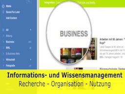 Webinar: Informations- und Wissensmanagement mit Evernote