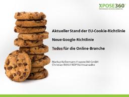 Webinar: EU-Cookie-Richtlinie und neue Google Richtlinie