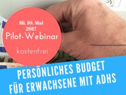 Webinar: Persönliches Budget für Erwachsene mit AD(H)S