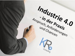 Webinar: Industrie 4.0 - in der Praxis