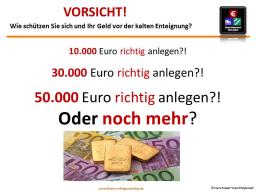 Webinar: Statt Nullzinsen: Wie lege ich 30.000 € und mehr richtig an?