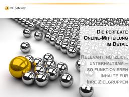 Webinar: Die perfekte Online-Mitteilung im Detail: Relevant, nützlich, unterhaltsam  so funktionieren Inhalte für die Zielgruppen