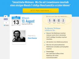 Webinar: Umsatzturbo Webinare