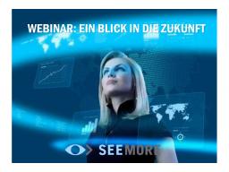 Webinar: Ein Blick in die Zukunft