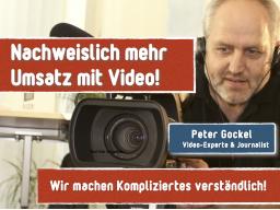 Webinar: Nachweislich mehr Umsatz mit Video
