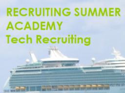 Webinar: Tag 5 Tech Recruiting Summer Academy