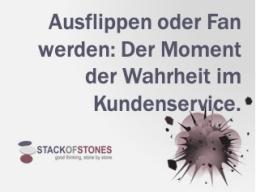 Webinar: Ausflippen oder Fan werden: Der Moment der Wahrheit im Kundenservice!