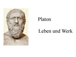 Webinar: Platon I: Leben und Werk