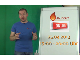 "Webinar: Mr. DO IT ""on Air"" - DO IT Basics"