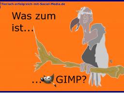 Webinar: Was zum Geier ist GIMP und was kann es?