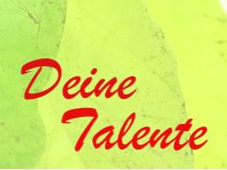 Webinar: Deine Talente verändern die Welt