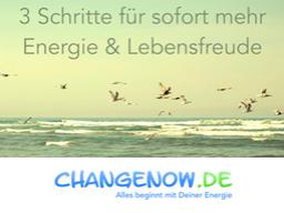 Webinar: 3 Schritte für sofort mehr Energie! :-)