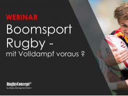 Webinar: Boomsportart Rugby - volle Kraft voraus?
