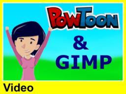 Webinar: Bilder mit Gimp für Powtoon bearbeiten (Video 5 Euro)