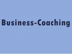 Webinar: Business-Coaching Online