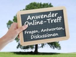 Webinar: Anwender-Online-Treff