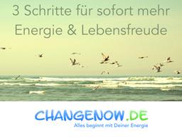 Webinar: 3 Schritte für sofort mehr Energie