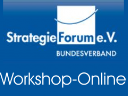 Webinar: Strategie-Net-Workshop