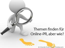 Webinar: Themen finden für Online-PR, aber wie?