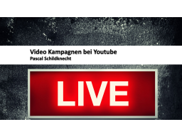 Webinar: Video Werbung bei Youtube