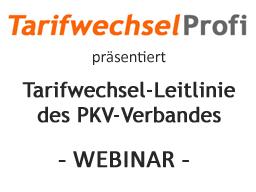 Webinar: Tarifwechsel-Leitlinie des PKV-Verbandes