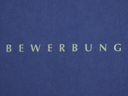 Webinar: Bewerbungsworkshop