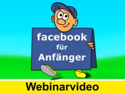 Webinar: FACEBOOK für Anfänger