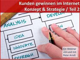Webinar: Webinar Kompaktkurs - Teil 2 - Strategie 2