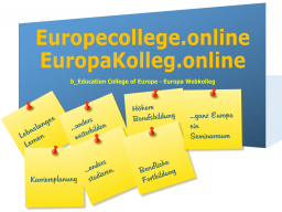 Webinar: Studientreff: Weiterbildung Kultur und Bildung