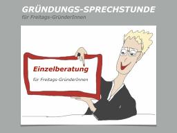Webinar: EINZELBERATUNG für Freitags-GründerInnen