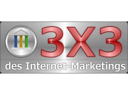 Webinar: Das 3x3 des Internet-Marketing