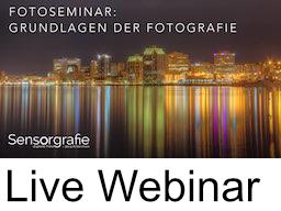 Webinar: Pilot-Webinar zu Grundlagen der Fotografie