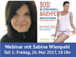 Webinar: SOS! Wie Sie blitzschnell Bauchfett reduzieren! Teil 1: Basiswissen: Basisch fit & schlank