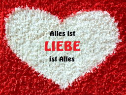 Webinar: Alles ist Liebe - Liebe ist Alles