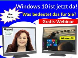 Webinar: Windows 10 ist jetzt da! Was bedeutet das für Sie?